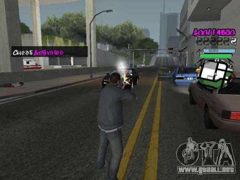 HUD para GTA San Andreas décimo de pantalla