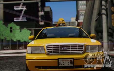 Ford Crown Victoria LA Taxi para GTA San Andreas