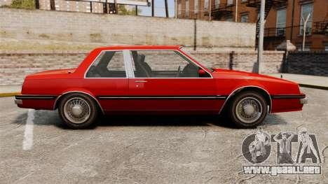 Willard Coupe para GTA 4 left