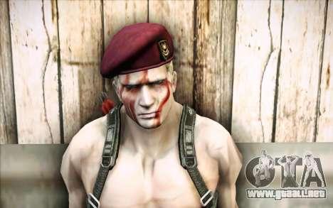 Jack Krauser mercenario para GTA San Andreas tercera pantalla