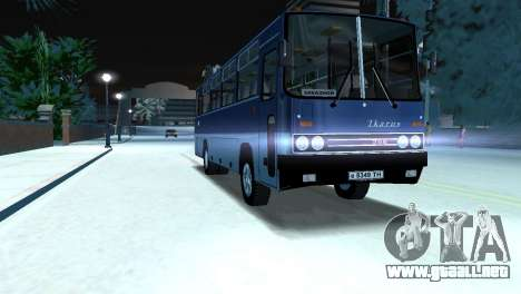 IKARUS 255 para GTA Vice City vista lateral izquierdo