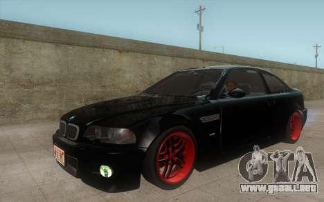 BMW M3 e46 Duocolor Edit para GTA San Andreas left