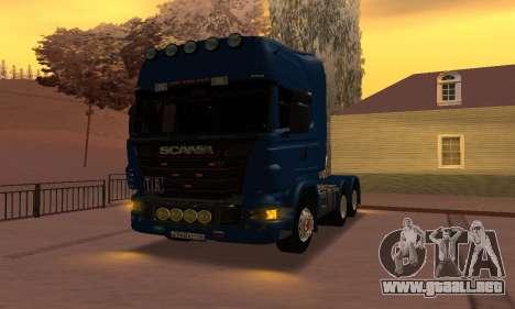 Scania Topline R730 V8 para la visión correcta GTA San Andreas