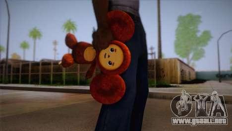 Cheburashka para GTA San Andreas tercera pantalla