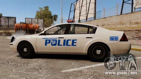 Pinnacle Police LCPD [ELS] para GTA 4 left