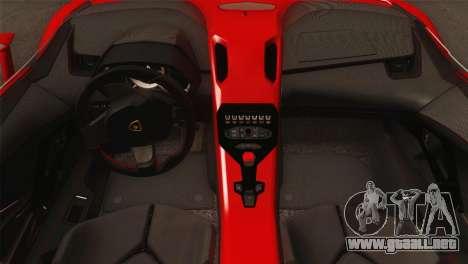 Lamborghini Aventador J 2012 v1.0 para la visión correcta GTA San Andreas
