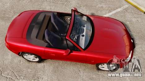 Mazda (Miata) MX-5 para GTA 4 visión correcta