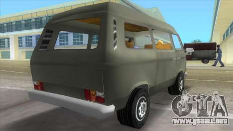 Volkswagen Transporter T3 para GTA Vice City left
