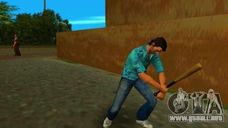 Bate de béisbol de GTA IV para GTA Vice City segunda pantalla
