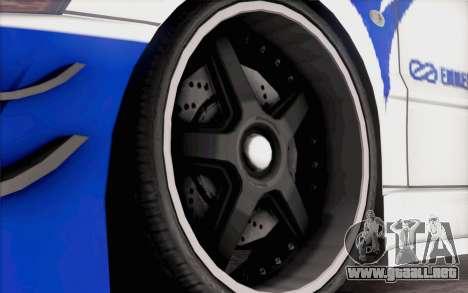 Mitsubishi Lancer Evolution IIIX para la visión correcta GTA San Andreas