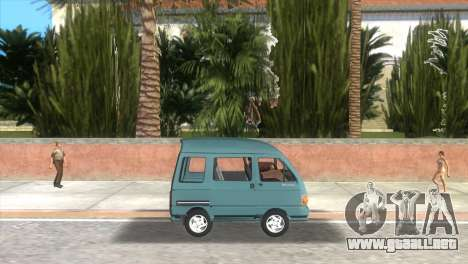Kia Towner para GTA Vice City left