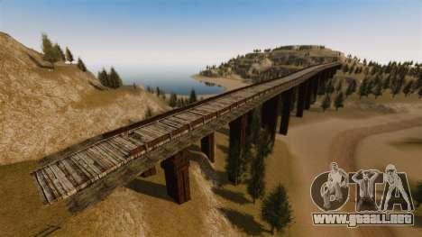 Cliffside ubicación Rally para GTA 4 sexto de pantalla