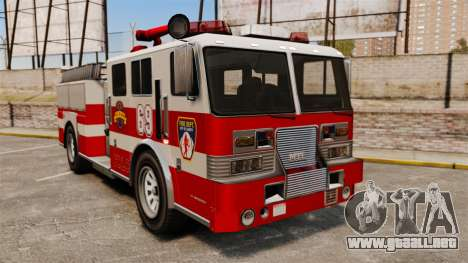 Camión de bomberos para GTA 4