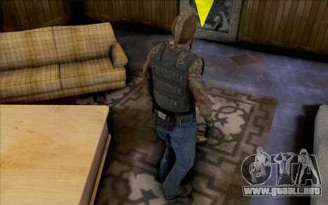 Mathias Nilsson de mercenarios 2 para GTA San Andreas segunda pantalla