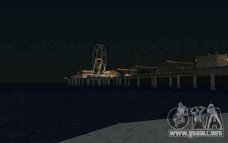 Time Control para GTA San Andreas sucesivamente de pantalla