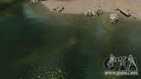 El nuevo color del agua de mar para GTA 4