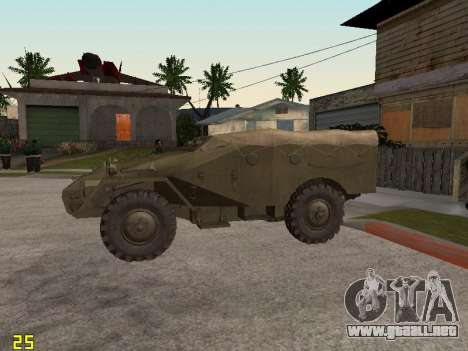 BTR-40 para GTA San Andreas left