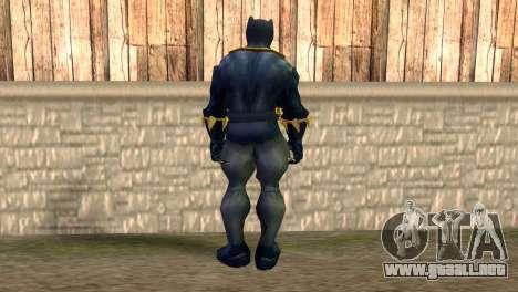 Black Panther para GTA San Andreas segunda pantalla