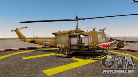 Bell UH-1 Iroquois v2.0 Gunship [EPM] para GTA 4 left