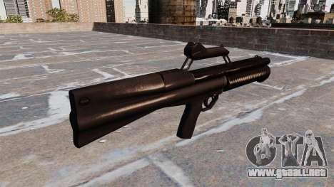 Escopeta ladrón Neostead 2000 para GTA 4 segundos de pantalla