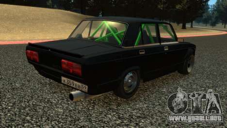 VAZ 2105 para GTA 4 vista interior