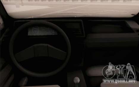 Volkswagen Jetta MK1 para la visión correcta GTA San Andreas