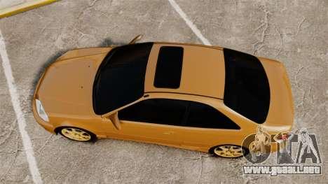 Honda Civic Si 1999 para GTA 4 visión correcta