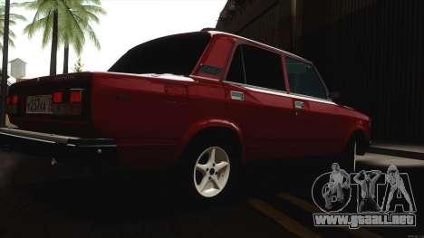 VAZ 2107 Bombilla para la visión correcta GTA San Andreas