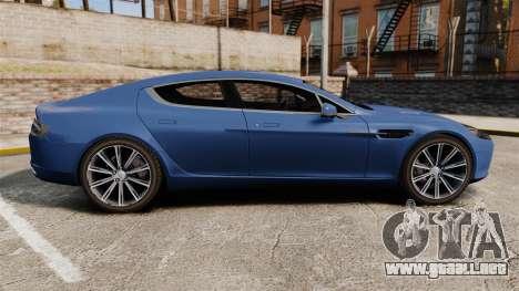 Aston Martin Rapide 2010 para GTA 4 left