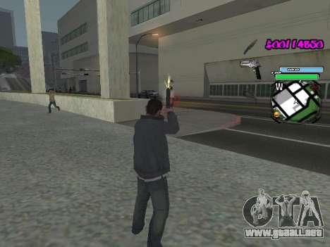 HUD para GTA San Andreas octavo de pantalla