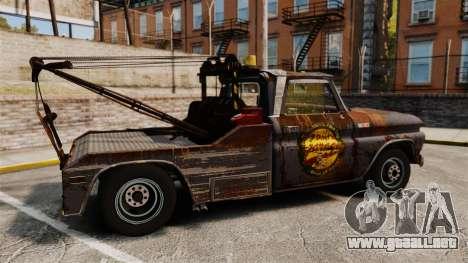 Chevrolet Tow truck rusty Stock para GTA 4 left