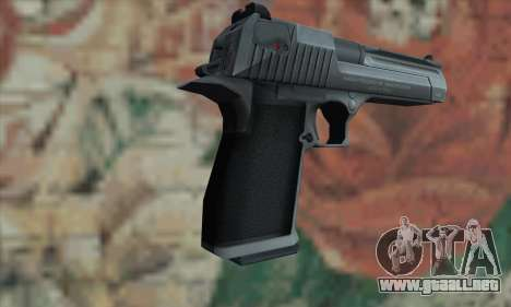 Desert Eagle plata para GTA San Andreas segunda pantalla
