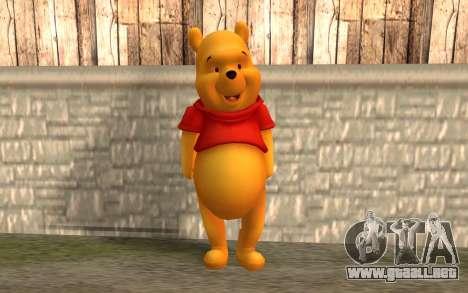 Winnie The Pooh para GTA San Andreas