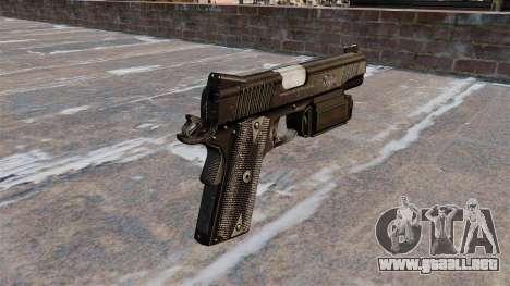 Pistola Colt 45 Kimber para GTA 4 segundos de pantalla