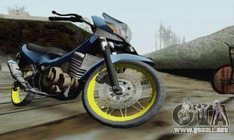 Suzuki Satria FU 150cc 2011 Semi Drag para visión interna GTA San Andreas