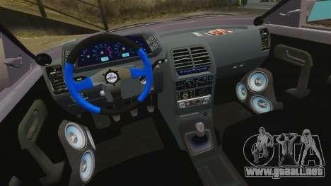 VAZ-2110 para GTA 4 vista lateral