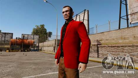 Chaqueta roja para GTA 4 segundos de pantalla
