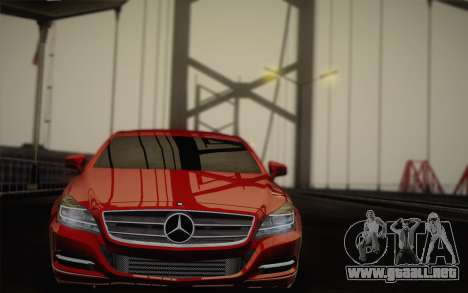 Mercedes-Benz CLS 63 AMG 2012 Fixed para GTA San Andreas interior