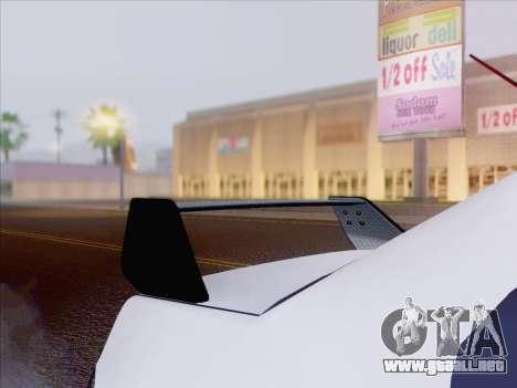 Mitsubishi Lancer Evo IX MR Edition para GTA San Andreas interior