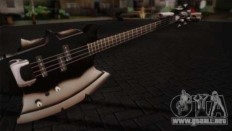 Guitarra, beso para GTA San Andreas