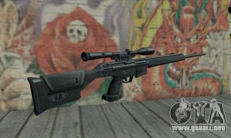 PSG-1 para GTA San Andreas segunda pantalla