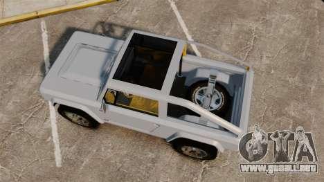 Ford Bronco Concept 2004 para GTA 4 visión correcta