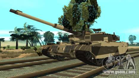 GTA V Rhino para GTA San Andreas