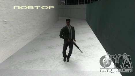 Con escopeta Saiga 12 k para GTA Vice City tercera pantalla