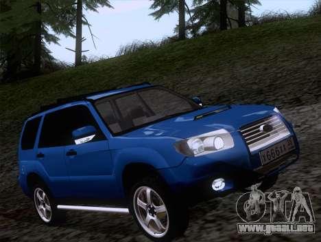 Subaru Forester 2.5XT 2005 para GTA San Andreas left