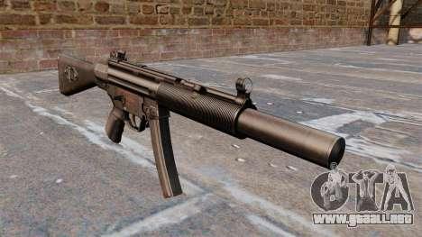 Ametralladora HK MP5A5 para GTA 4