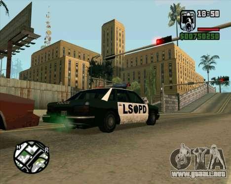 Nuevo Hospital HD para GTA San Andreas sucesivamente de pantalla