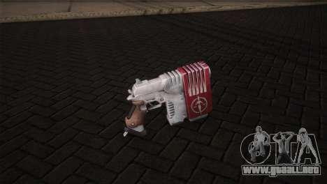 Magnum Pistol para GTA San Andreas segunda pantalla