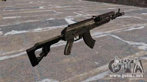 AK-47 táctico para GTA 4 segundos de pantalla