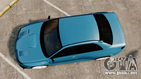 Subaru Impreza HD Arif Turkyilmaz para GTA 4 visión correcta